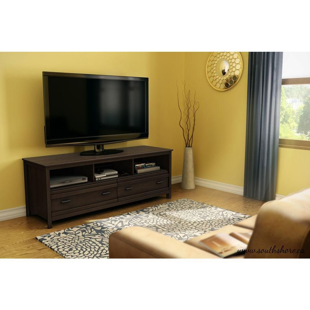 Exhibit TV Stand In Mocha Brown 4479677 Canada Discount