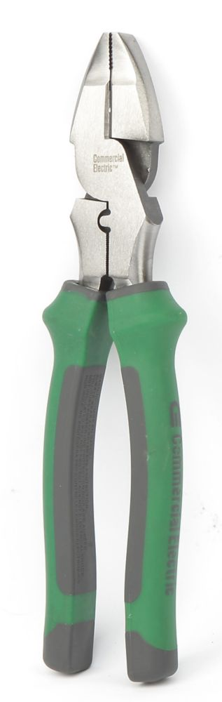 Pince coupante de fils, 22,86cm (9po) avec sertisseur de cosse