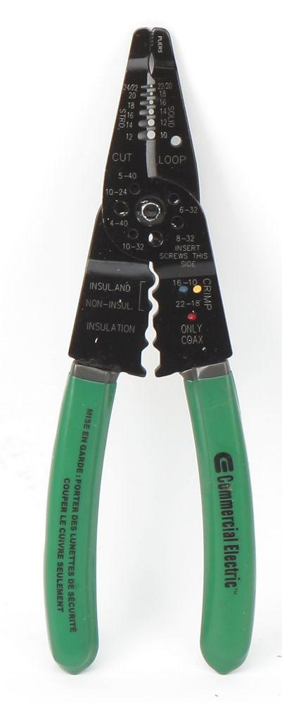 Outil de câblage polyvalent à bec long, 20,32cm (8po)