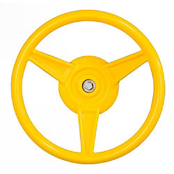 Playstar Yellow Play Steering Wheel