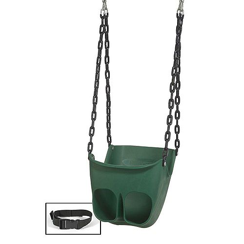 Playstar Commercial Grade Playground Toddler Swing with Chain