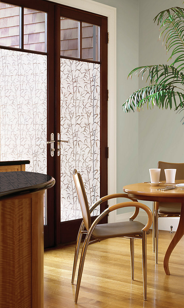 Static Cling -Bamboo Door