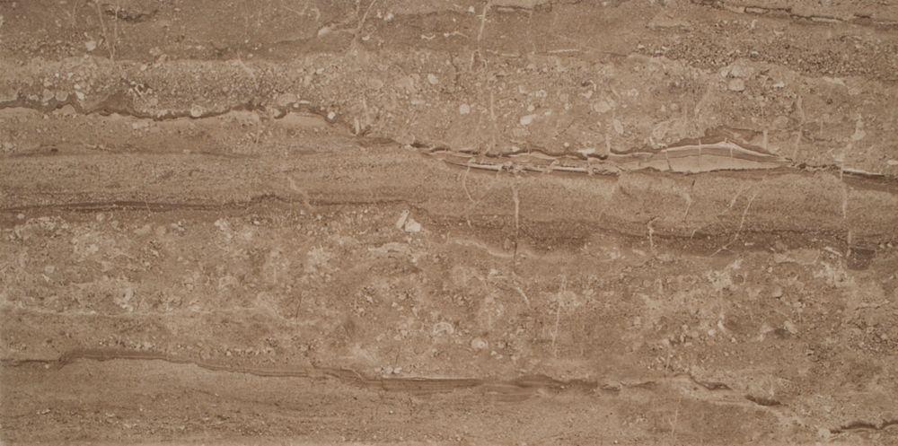 Sand Dunes 12 inch x 24 inch Glazed Polished Porcelain Floor & Wall Tile