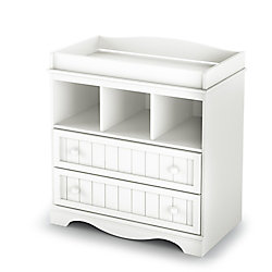 South Shore Savannah Changing Table, Pure White