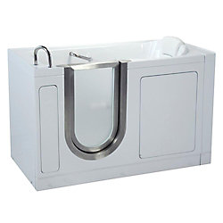 Ella Deluxe 4 Feet 7-Inch Walk-In Bathtub in White