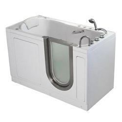 Ella Deluxe 4 Feet 7-Inch Walk-In Whirlpool Bathtub in White