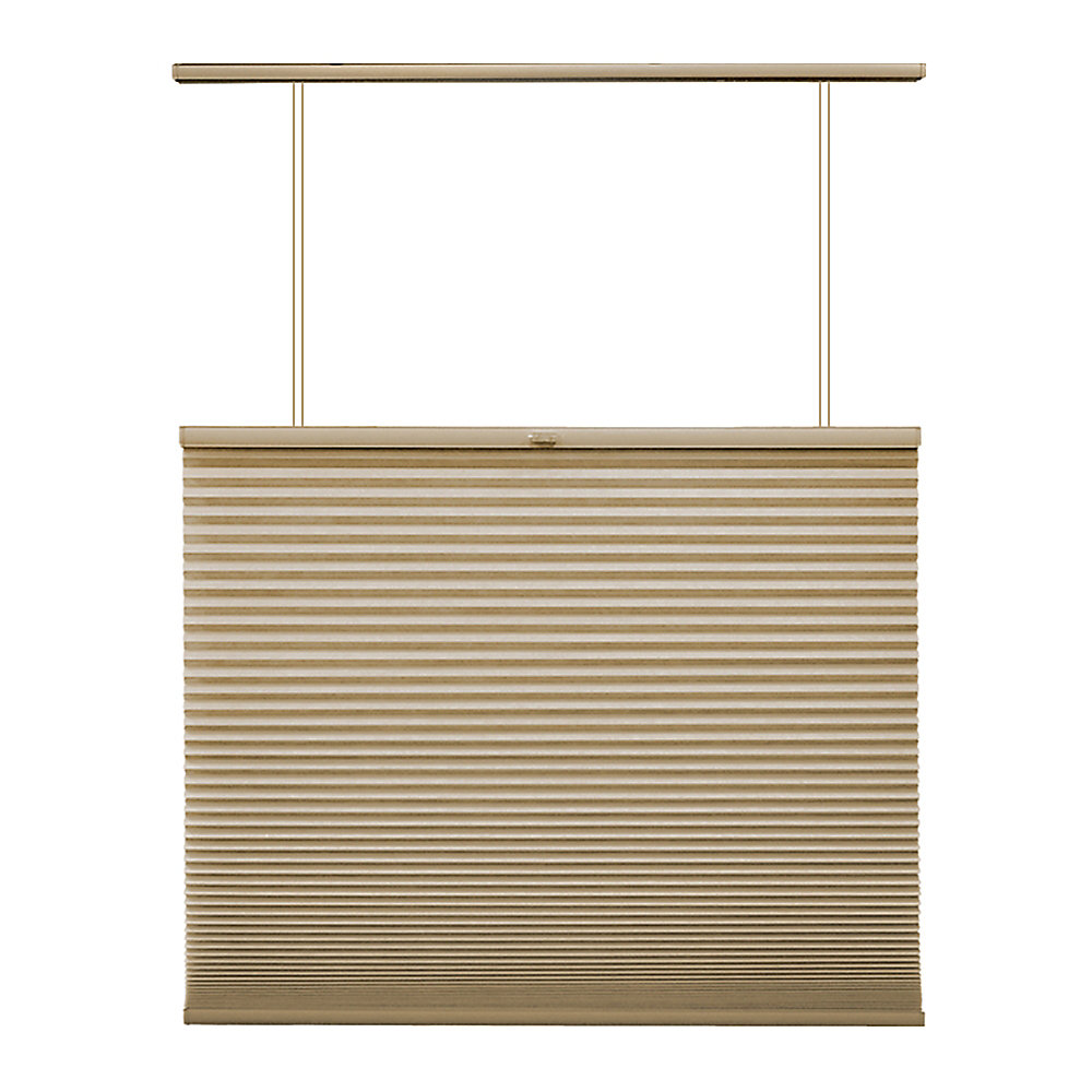 27x72 Sandstone Cordless Top Down/Bottom Up Cellular Shade (Actual width 26.625 Inch)