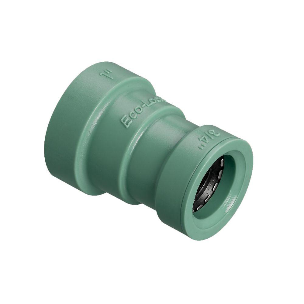 Orbit 1-inch x 3/4-inch Eco-Lock Coupling