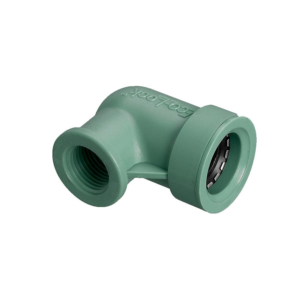 3/4-inch x 1/2-inch FPT Eco-Lock Elbow