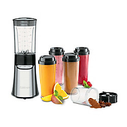 Cuisinart Système de mélangeur-hachoir Compact et portatif de 15 morceaux