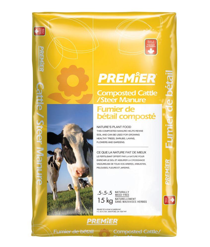 Fumier de bétail composté Premier<sup>®</sup>