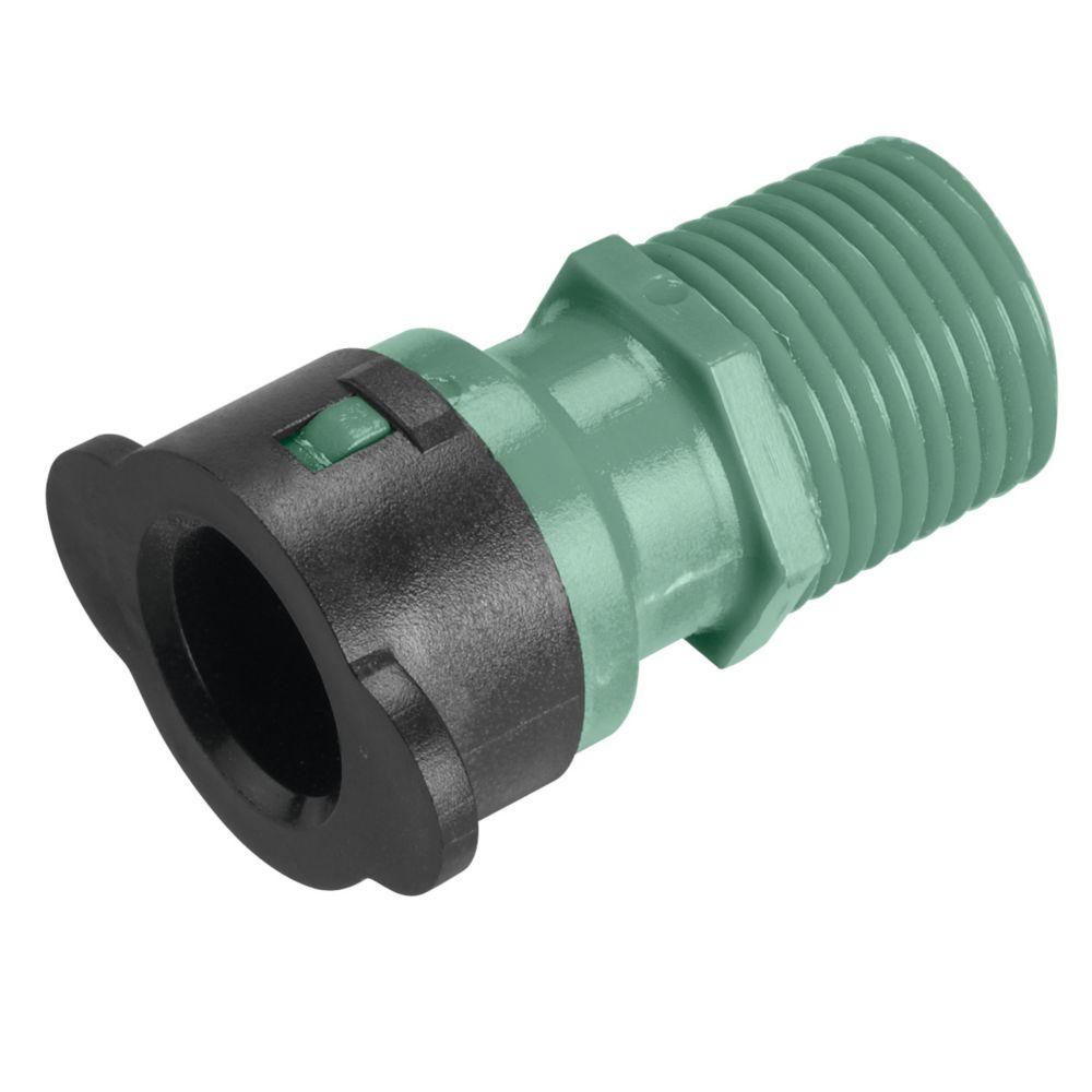 1/2 Inch Eco-Lock x 1/2 Inch MPT Adapter
