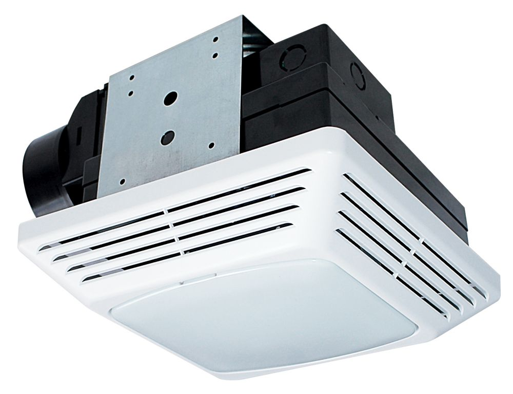 Air King Bfqf70 Snap In Bath Fan Light 70 Cfm 1 5 Sones Energy Star The Home Depot Canada