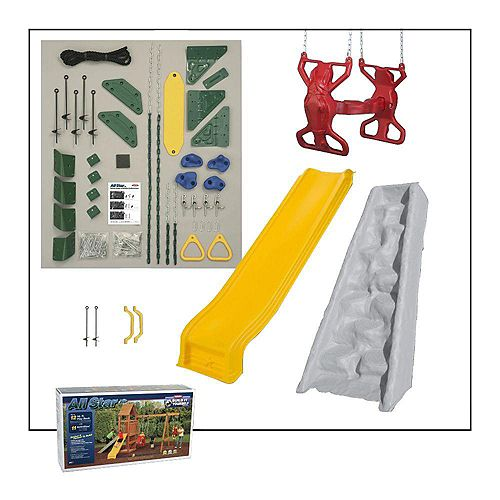 Playstar All Star Build-It-Yourself Silver Playset