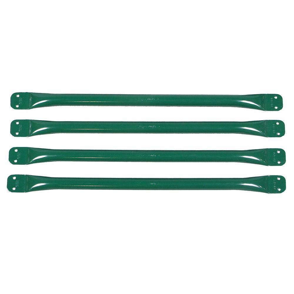 Playground Climbing Bars in Green (4 Pack)