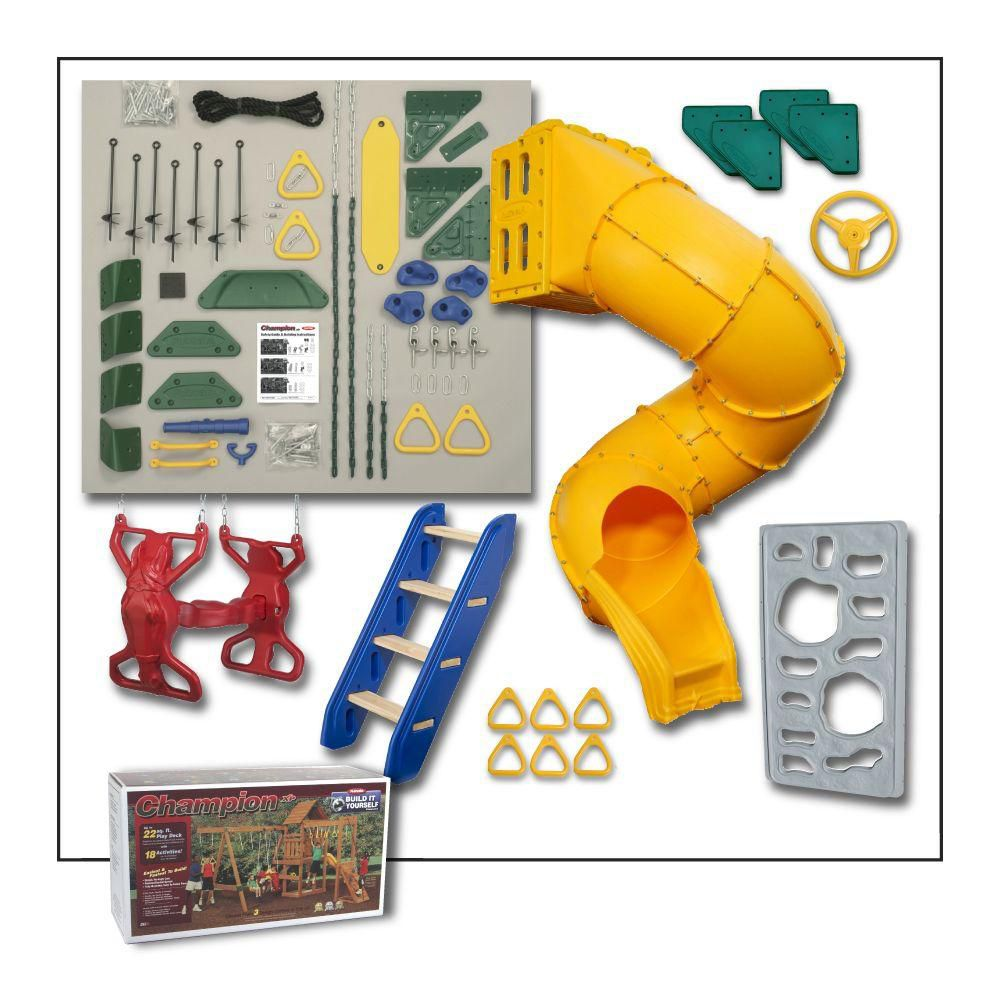 Playstar Champion Build-It-Yourself Gold Playset