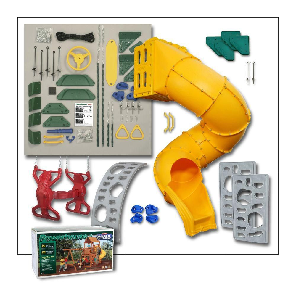 Powerhouse Build It Yourself Gold Playset
