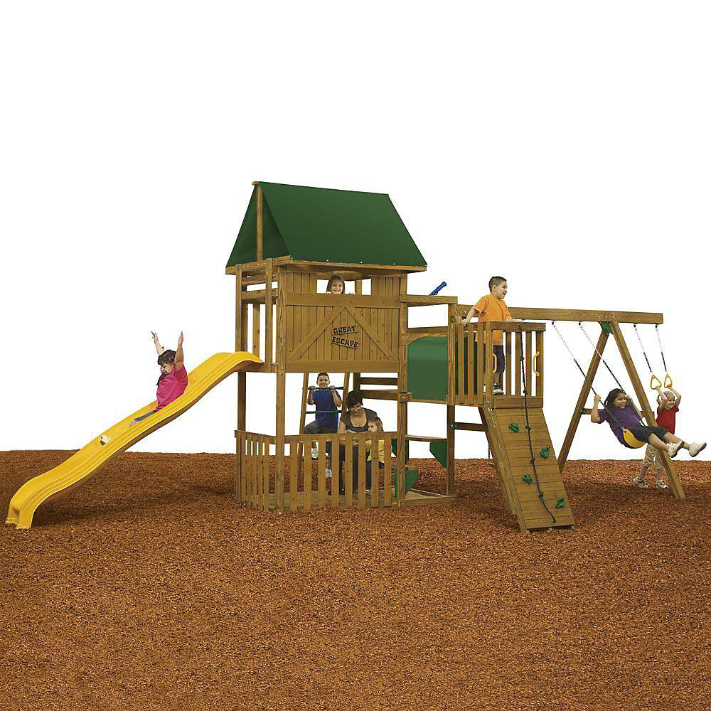 Great Escape Ready to Assemble Qualifier Playset