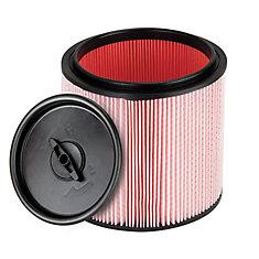 Dura Vac Fine Dust Cartridge Filter and retainer