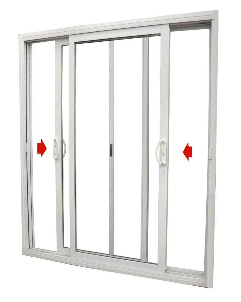 72-inch x 82-inch Double Dualglide Low-E Sliding Patio Door