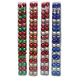 Home Accents Holiday 70mm Shatterproof Ornaments (36-Count)