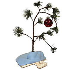 24-inch Musical Charlie Brown Tree