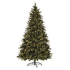 Pre-Lit Pasadena Gold Tree - 7.5 ft
