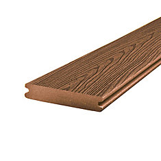 20 Ft. - Enhance Composite Capped Grooved Decking - Beach Dune
