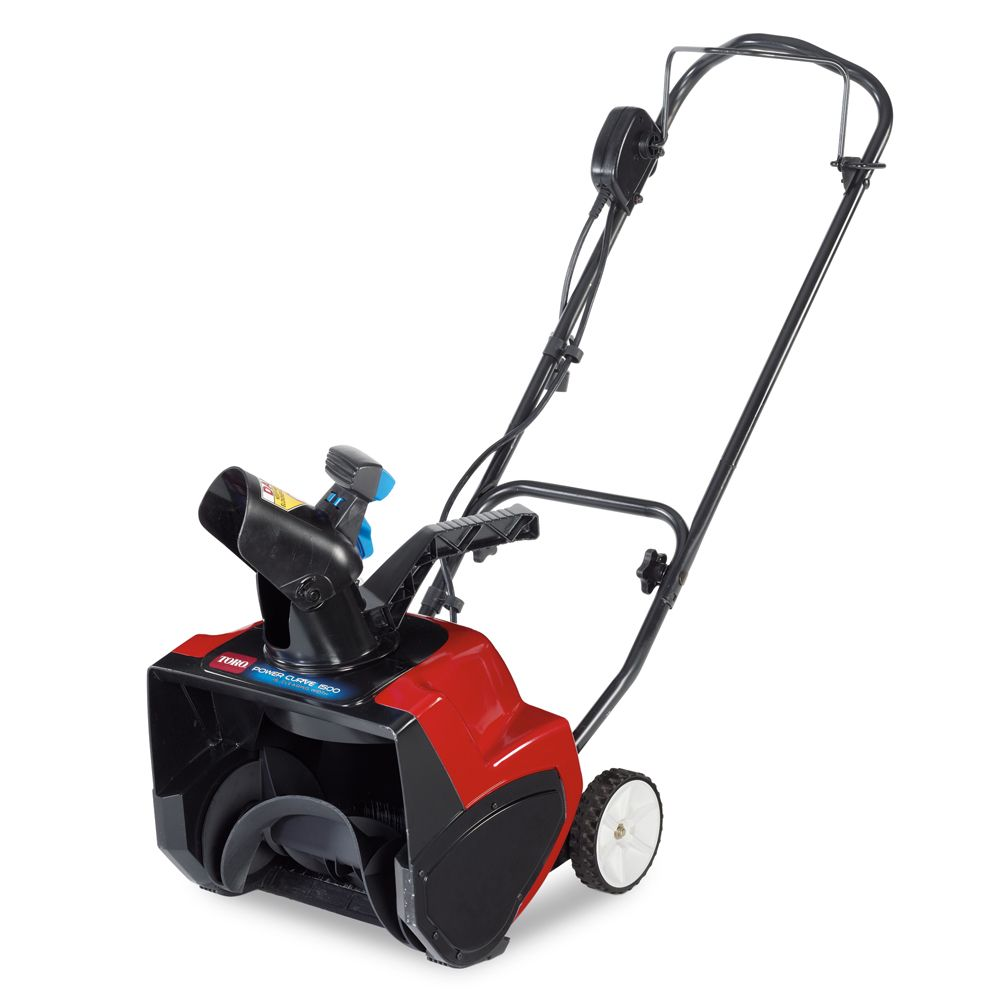 1500 Electric Power Curve Snow Blower with 15-inch Clearing Width