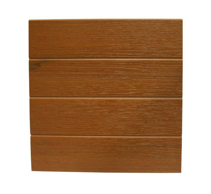12 x 12' redwood embossed cladding (requires hangers)