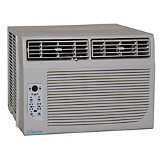 10,000 BTU Window Air Conditioner with Remote and Timer