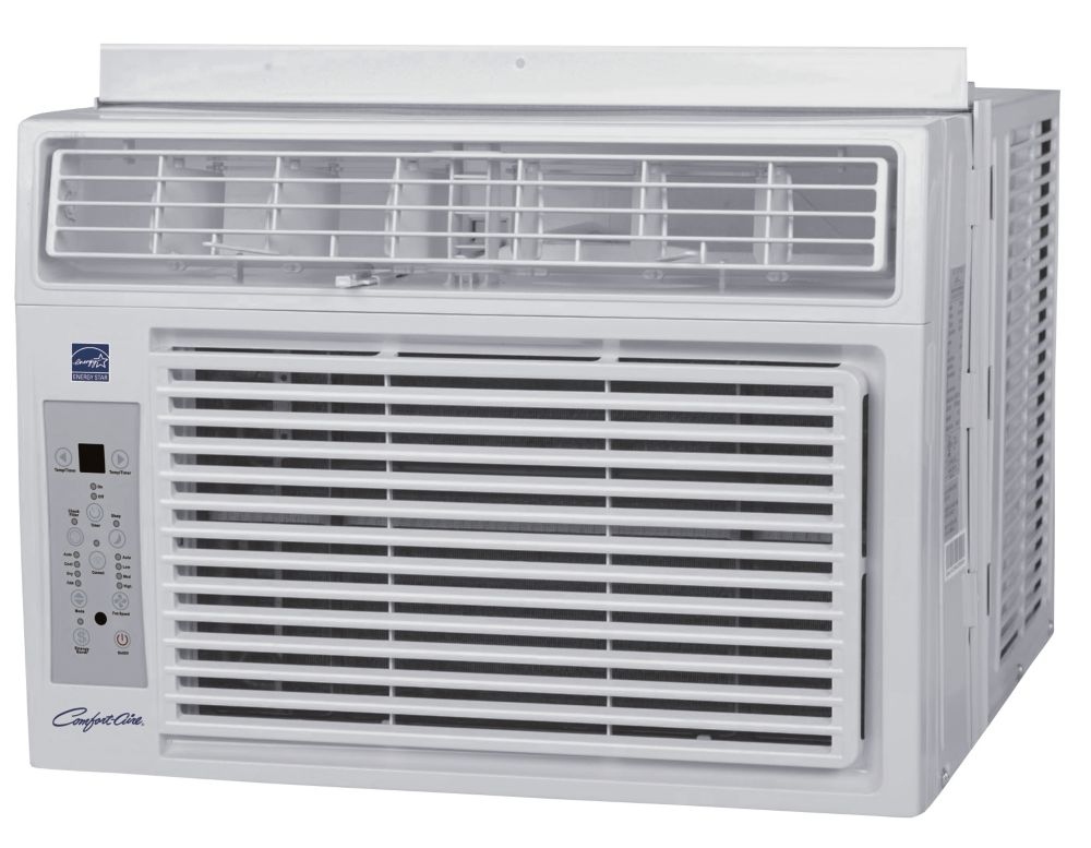 Comfort aire window ac 12000 btu w remote 115v the for 12000 btu window ac