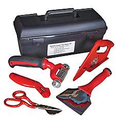 Trousse d'outils pour réparation de tapis