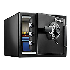 FIRE-SAFE combination lock safe