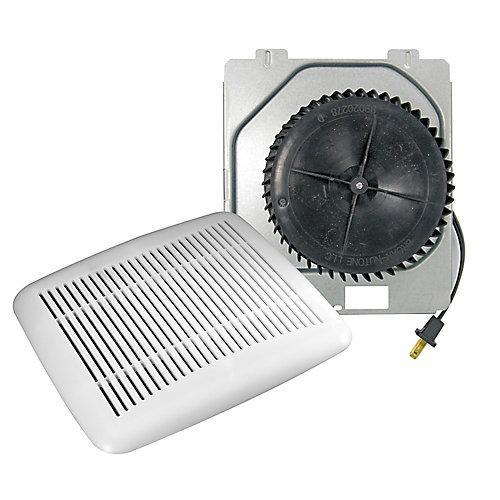 Ensemble de transformation de ventilateur de salle de bains
