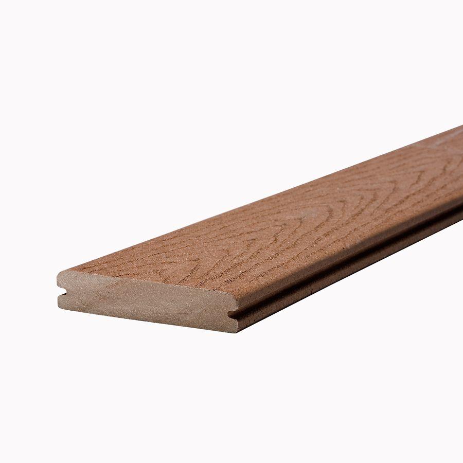 Planche avec rebord rainuré Accents de 2,54 cm x 13,97 cm x  6,10 m (1 po x 5,5 po x 20 pi)