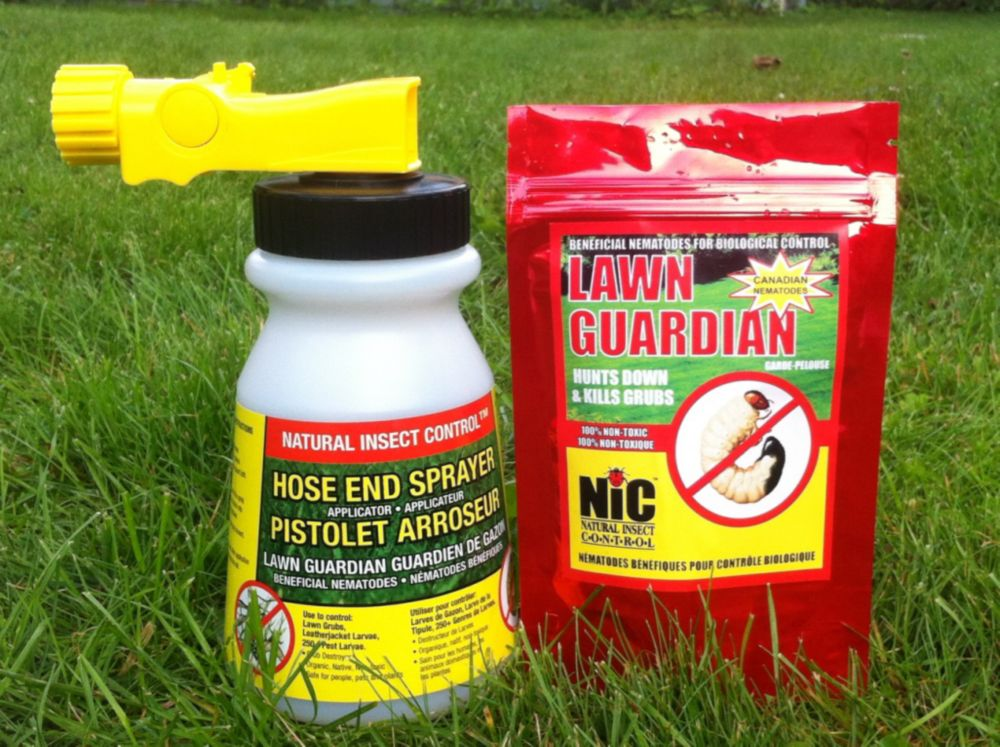 Natural Insect Control -Lawn Guardian Kit