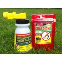 Lawn Guardian Kit Natural Insect Control - Gardian Du Gazon +Darrosage avec Pistolet