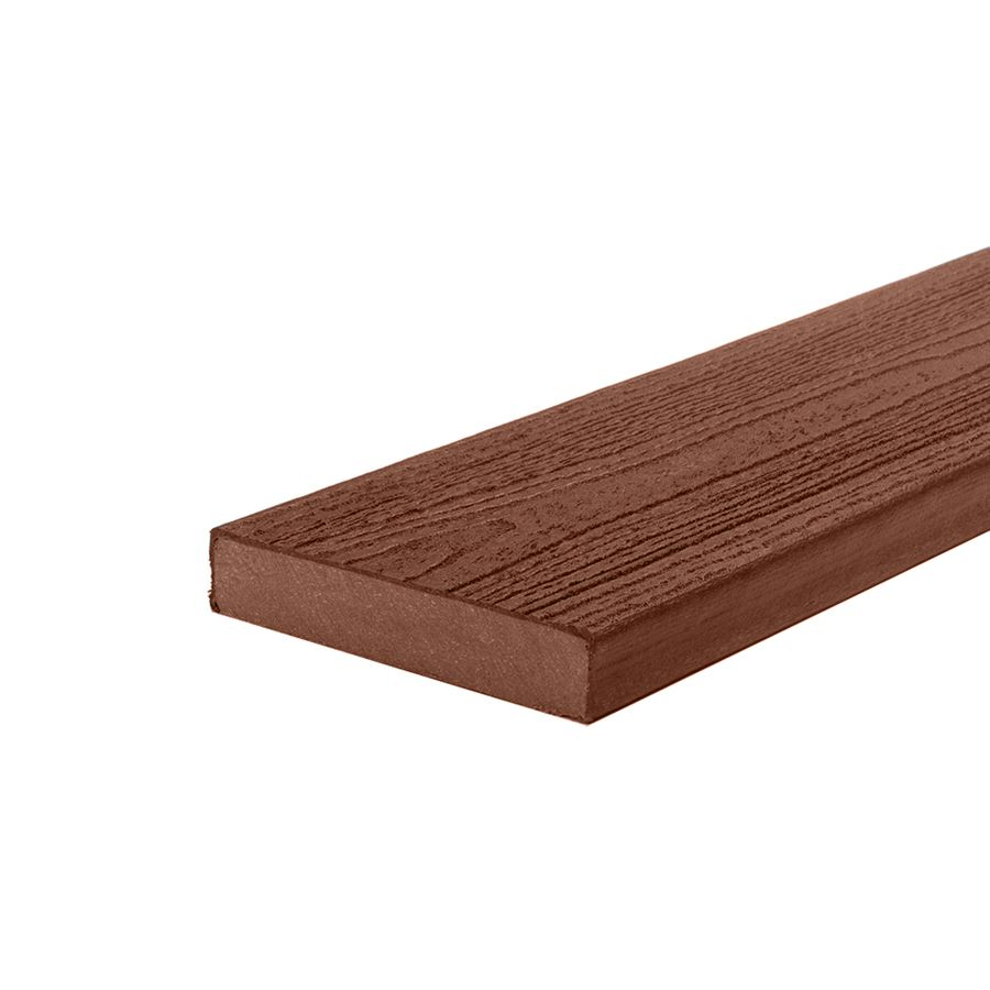 Trex 16 ft transcend composite capped square decking for Capped composite decking