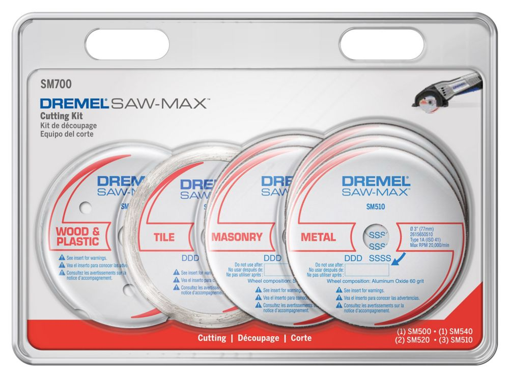Dremel Saw-Max Cutting Kit, 7-Piece