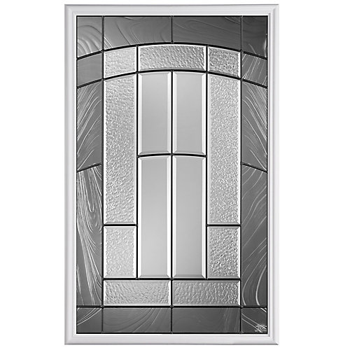 Masonite Croxley 22 Inch X 36 Inch 1 2 Lite Glass Insert The