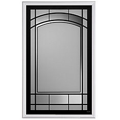Masonite San Pietro 22-inch x 36-inch 1/2-Lite Insert | The Home ...