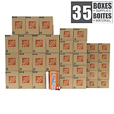 35 Box Small/ Medium Apartment Moving Bundle