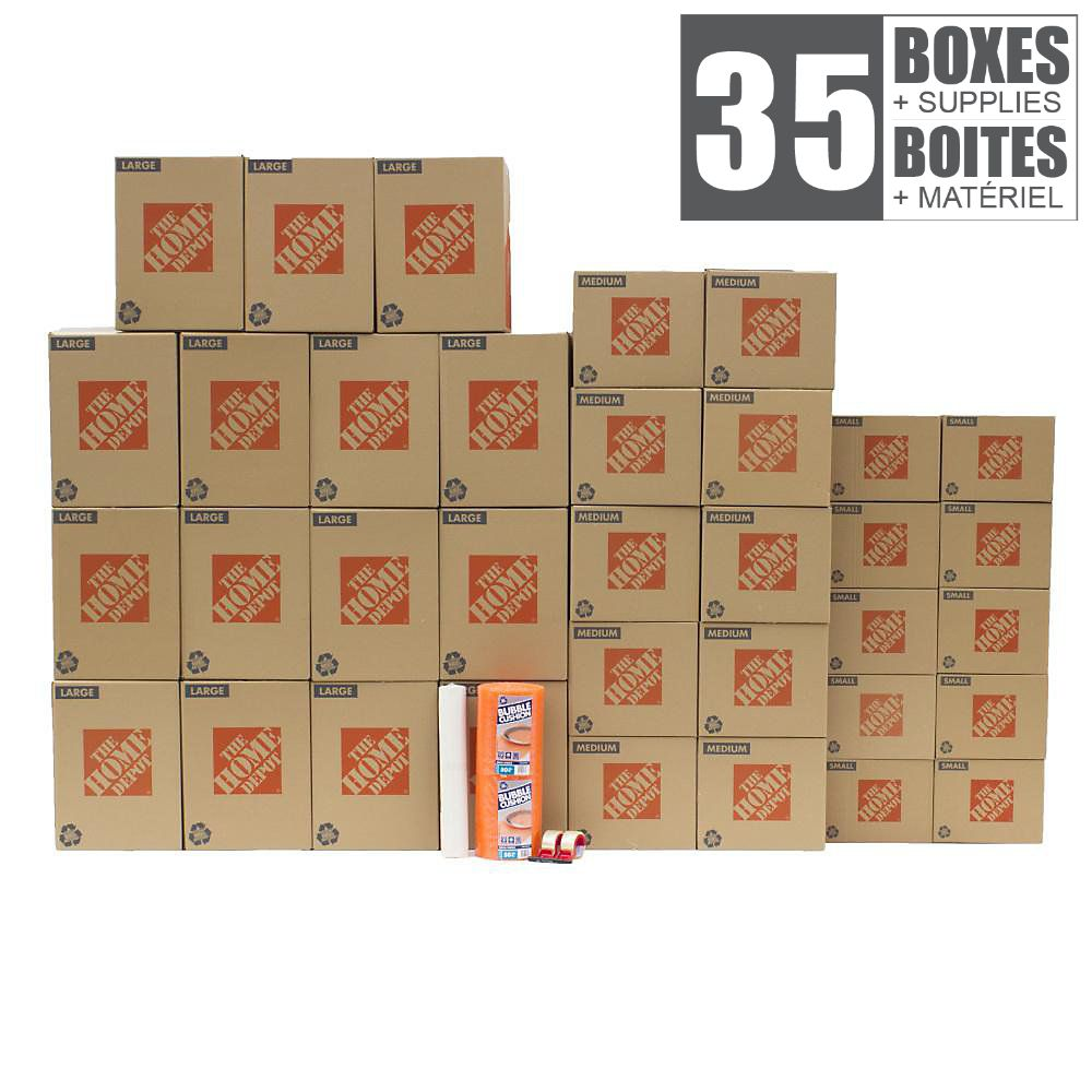 35 Box Packing Kit