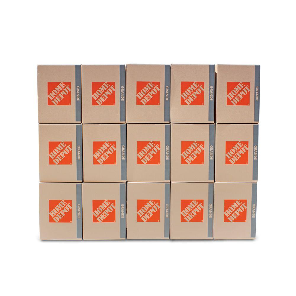 Ensemble de grandes boîtes, 15 boîtes