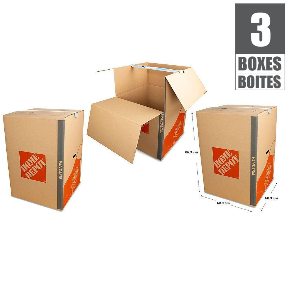 3 Box Wardrobe Box Bundle