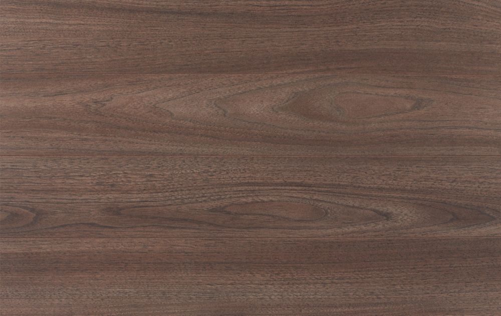 Sunvalley Walnut With Pre- Attached Foam Underlayment Laminate Flooring (12.09 sq. ft. / case)