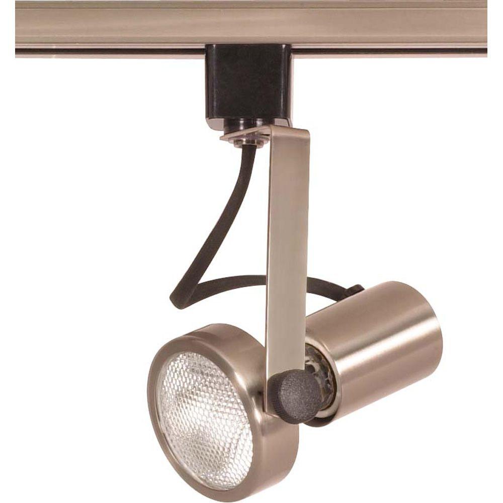 Home Depot Track Lighting: Glomar 1-Light PAR20 Track Head Gimbal Ring Finished In