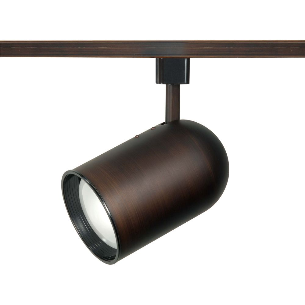 Appareil d'éclairage Glomar à une ampoule avec , Fini bronze