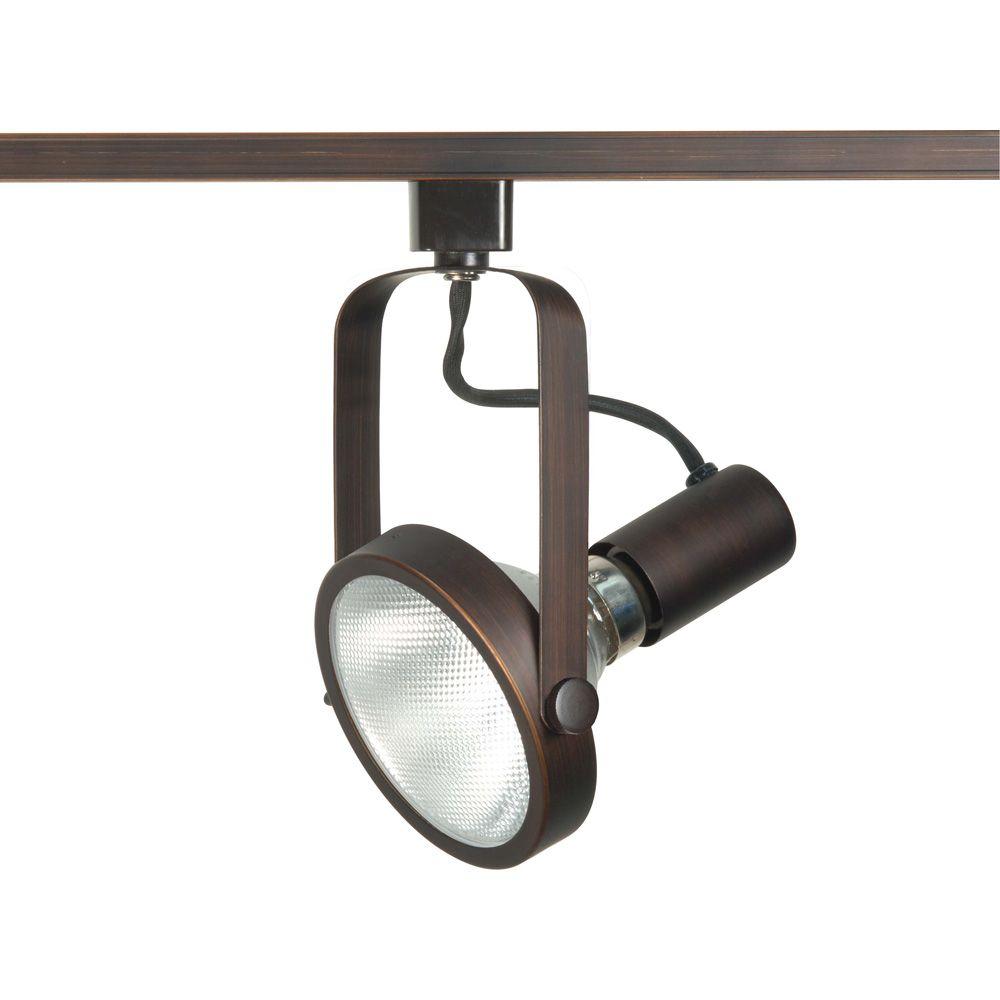 Appareil d'éclairage à une ampoule avec , Fini bronze